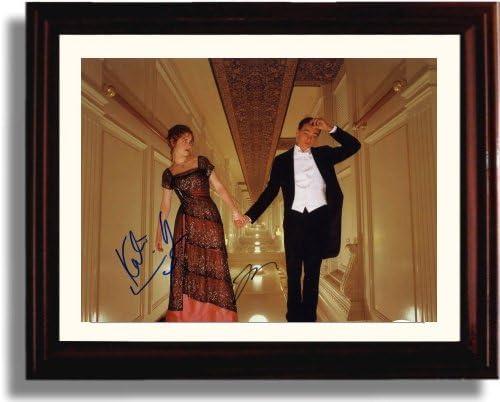 Framed Leonardo Genuine Free Shipping Dicaprio Beauty products and Kate Replica Pri Autograph Winslett