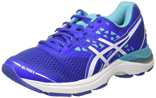 ASICS Gel-Pulse 9, Scarpe Running Donna, Blu (Blue Purple/White/Aquarium), 39 EU