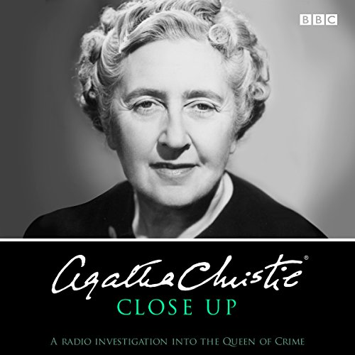 Agatha Christie Close Up audiobook cover art