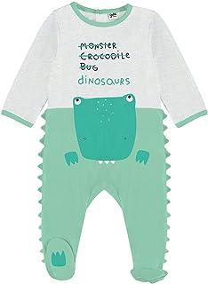 YATSI - Pelele bebé algodón Dinosaurio. bebé-niños