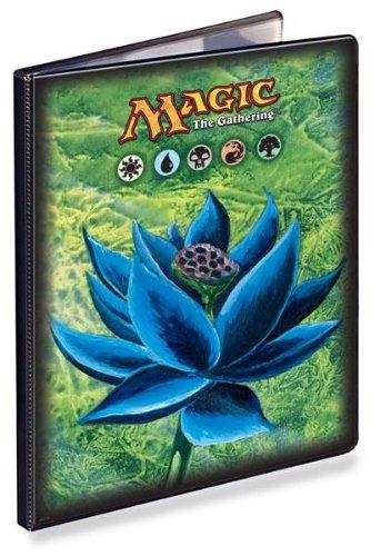 Ultra Pro 82572 – Étui Portefeuille de 4 Pocket MTG Lotus, Noir