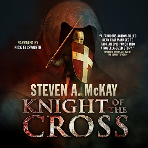 Knight of the Cross audiobook cover art