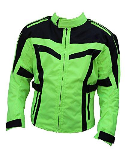 Hi Vis Motorfiets Bikers 100% Waterdicht Wind Proof Jas met Beschermende Ce Armours in