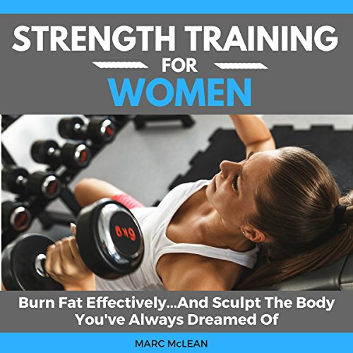 Strength Training for Women audiobook cover art