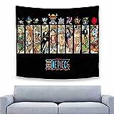 Tapiz de Anime Para colgar en la pared, decoración de la habitación, bandera de gran tamaño para el dormitorio, sala de estar, regalos de cumpleaños, 150x130cm