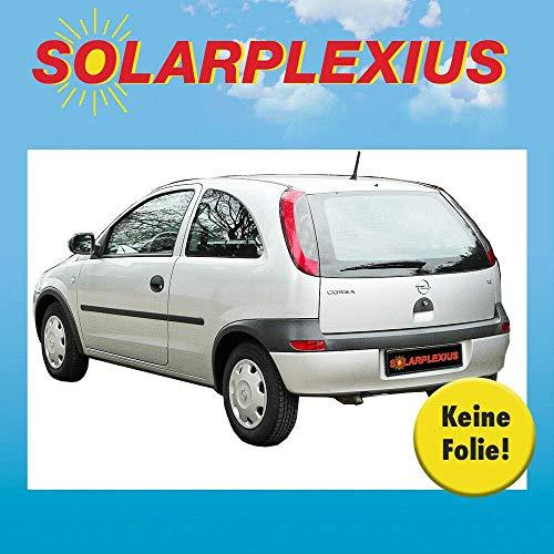 Solarplexius Sonnenschutz Autosonnenschutz Scheibentönung Sonnenschutzfolie Opel Corsa C 3 Türer Bj. 00-06