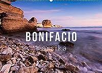 Bonifacio. Korsika (Wandkalender 2022 DIN A2 quer): Malerisches Bonifacio auf Korsika - 4 Jahreszeiten (Monatskalender, 14 Seiten )