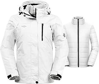 mens white winter coat