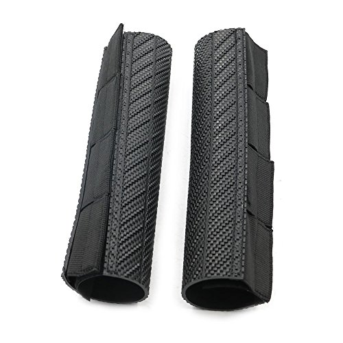 Alpha Rider Motorcycle Dirt Bike Front Forks Protector Shock Absorber Guard Wraps Dust Cover Boot Board For Kawasaki KLX250 KDX 125 200 250 Black