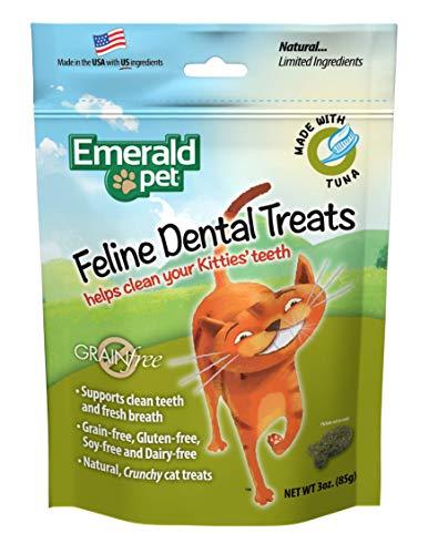 Emerald Pet Feline Dental Tuna Treats