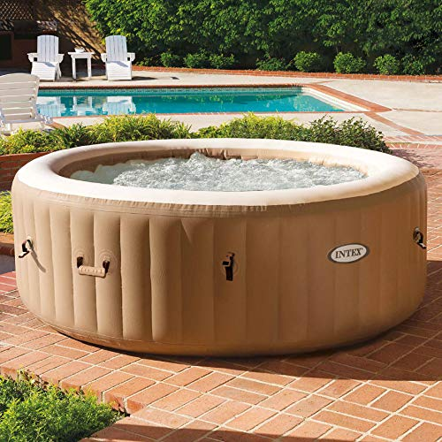 Intex 28425E 77in PureSpa Inflatable Spa,...