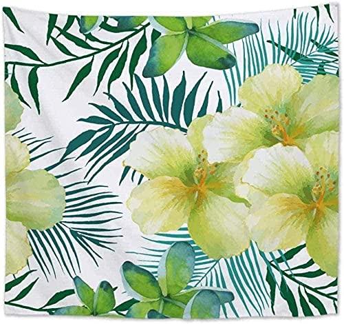 Arazzo Da Parete Cuscino Con Stampa A Foglia Di Banana A Forma Di Cactus Di Boemia Sottile In Poliestere Con Pianta Tropicale Ad Arazzo 150*200Cm