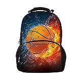 CHAQLIN Cartable Orange Basketball grand