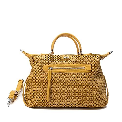 XTI 86484, Bolso Sra. C. Amarillo para Mujer, Talla