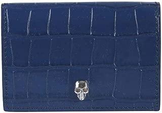 Luxury Fashion   Alexander Mcqueen Womens 5709141JM0I4015 Blue Wallet   Fall Winter 19