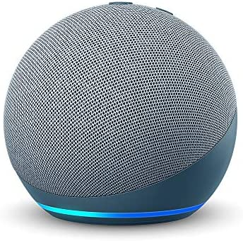 All new Echo Dot 4th Gen Smart speaker with Alexa Twilight Blue product image