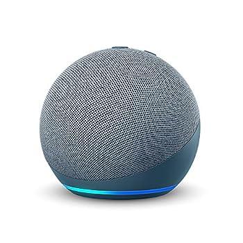Echo Dot  4th Gen  | Smart speaker with Alexa | Twilight Blue