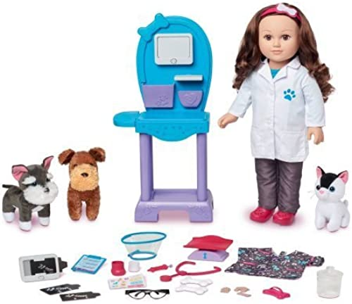 gran selección y entrega rápida My Life As 18 Doll of the the the Year Vet Dhttps   catalog.amazon  abis Classify SelectCategory oll Play Set, Caucasian with marrón Hair by myLife Brand Products  marcas en línea venta barata