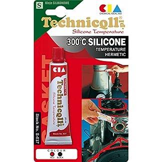 Rojo de silicona de alta temperatura sellante adhesivo 20 ml resistente al calor 9144 cm C notebookbits