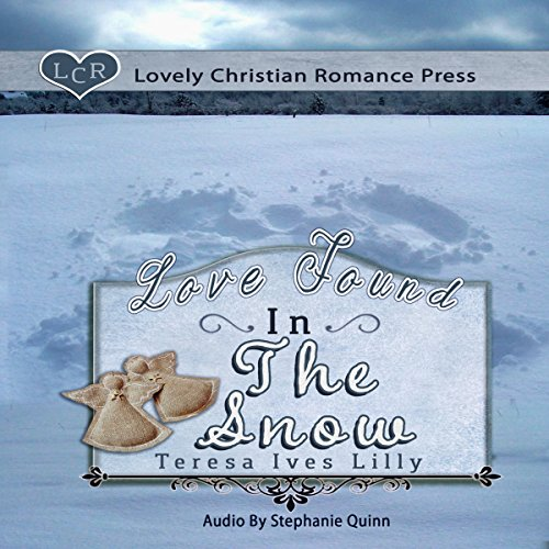 Love Found in the Snow audiobook cover art