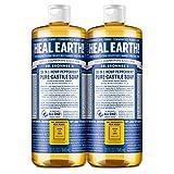 Dr. Bronner's - Pure-Castile Liquid Soap (Peppermint, 32 ounce,...