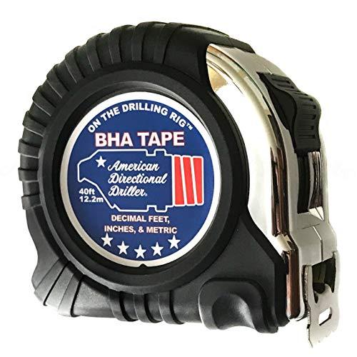 40 Foot Tape Measure – Wide Blade – Engineer Scale, Imperial...