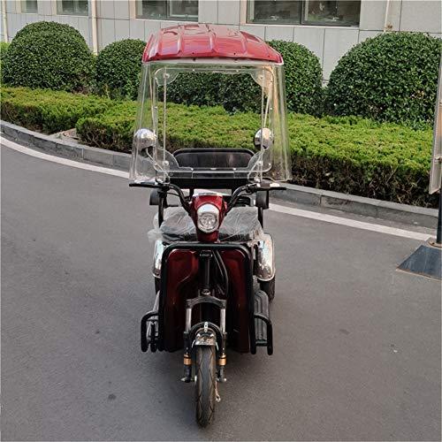 XIONGGG Toldo Eléctrico para Motocicleta, Techo Universal para Motocicleta, Parasol para Bicicleta,...