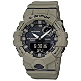 Casio Tactical G-Shock ANI-Digi Power Trainer Watch, Tan, GBA800UC-5A