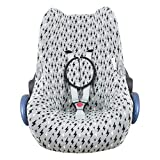 JANABEBE Funda compatible con Maxi Cosi Cabriofix, silla de coche gr 0 (Black...