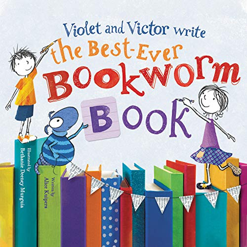 Violet and Victor Write the Best-Ever Bookworm Book cover art