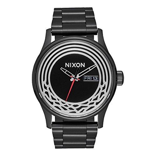 Nixon Sentry Star Wars–Reloj de Pulsera analógico de Cuarzo Acero Inoxidable Revestimiento a356sw2444–00