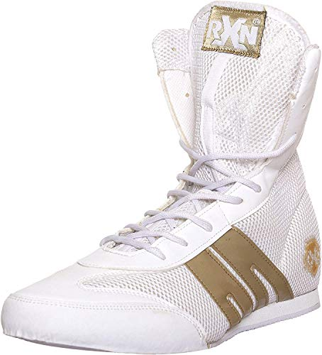 Rxn Gold Medal Boxing Shoes for Mens