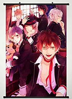 Wall Scroll Poster Fabric Painting For Anime Diabolik Lovers More Blood Key Roles 029 S