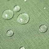 Gartentischdecke Lotus Effekt Eckig 110x160 cm Hellgrün Grün - Farbe & Größe wählbar mit...