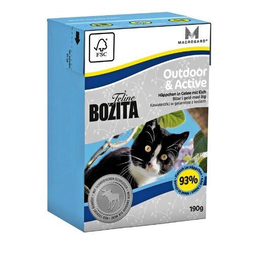 Bozita Cat Tetra Recard Outdoor & Active 190g
