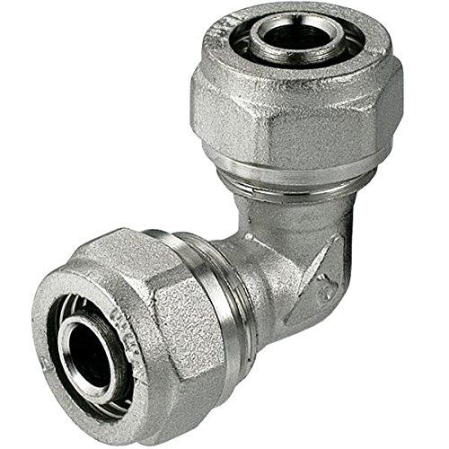 25 x 25 mm Pex-Al-Pex Accesorios de Compresión Codo
