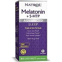60-Count Natrol Melatonin Advanced Sleep Time Release Bi-Layer Tablets