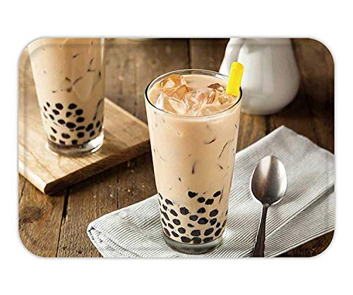 ESLAMUCHS Homemade Milk Bubble Tea with Tapioca Pearls