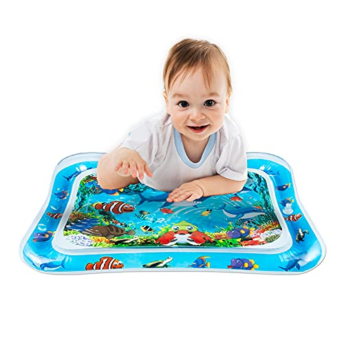 VOCH GALA Inflatable Tummy Time Water Mat, Baby Toys for 3 6 9 12 Months Infant Boys Girls, Perfect Gift for Baby to Meet Milestone