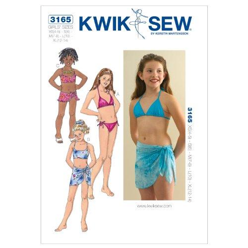 KWIK SEW Schnittmuster 3165 Bikini Gr. XS-XL