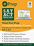 ePrep SAT & ACT 2020 - 2021 Bundle | Premium Online Course and Study Guide | 18 Months | 4 Full-Length Exams + Video Explanations + Quizzes + Strategies [Online Code]