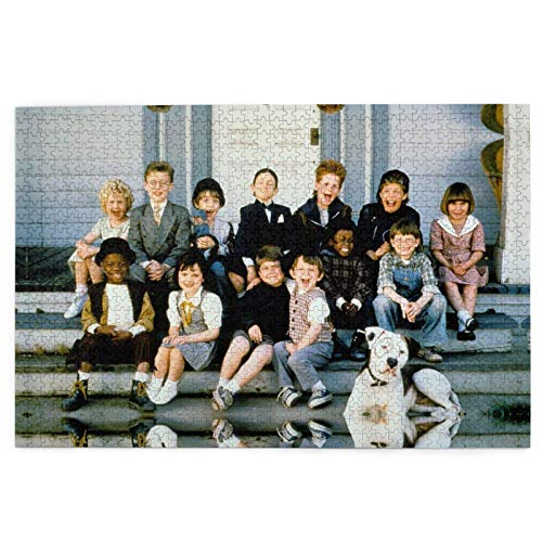 Home Decoration Wooden Picture Puzzles Game The Little Rascals Picture Puzzles 1000 Pieces for Adults and Kids