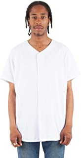 Shaka Wear Men's SHBBJ 7 oz, 100% US Cotton Baseball Jersey