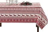 BENSON MILLS Nordic Christmas Herringbone - Mantel Rectangular Impreso, 60 x 300 cm