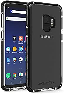 Impact Gel Crusader Lite Series Case for Samsung Galaxy S9 - Clear/Black