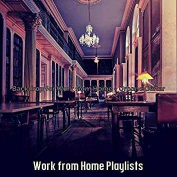 Backdrop for Work from Home - Urbane Guitar