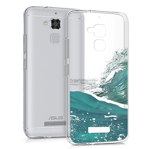 Eouine Funda ASUS Zenfone 3 MAX 5.2, Cárcasa Silicona 3D Transparente con Dibujos Suave TPU Impresión Patrón Bumper Case Cover Fundas para Movil ASUS Zenfone 3 MAX 5.2 ZC520TL (Mar)