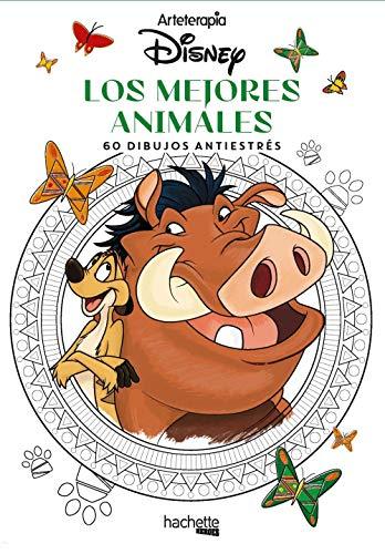Arteterapia. Los mejores animales Disney (Hachette HEROES - DISNEY - Arteterapia)