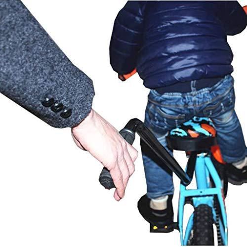 HoSayLike Entrenador De Bicicleta Entrenamiento En Bicicleta NiñOs Bicicleta De Ciclismo La Seguridad Equilibrar Aprender Barra De Empuje Bike Training Push Grab Balance
