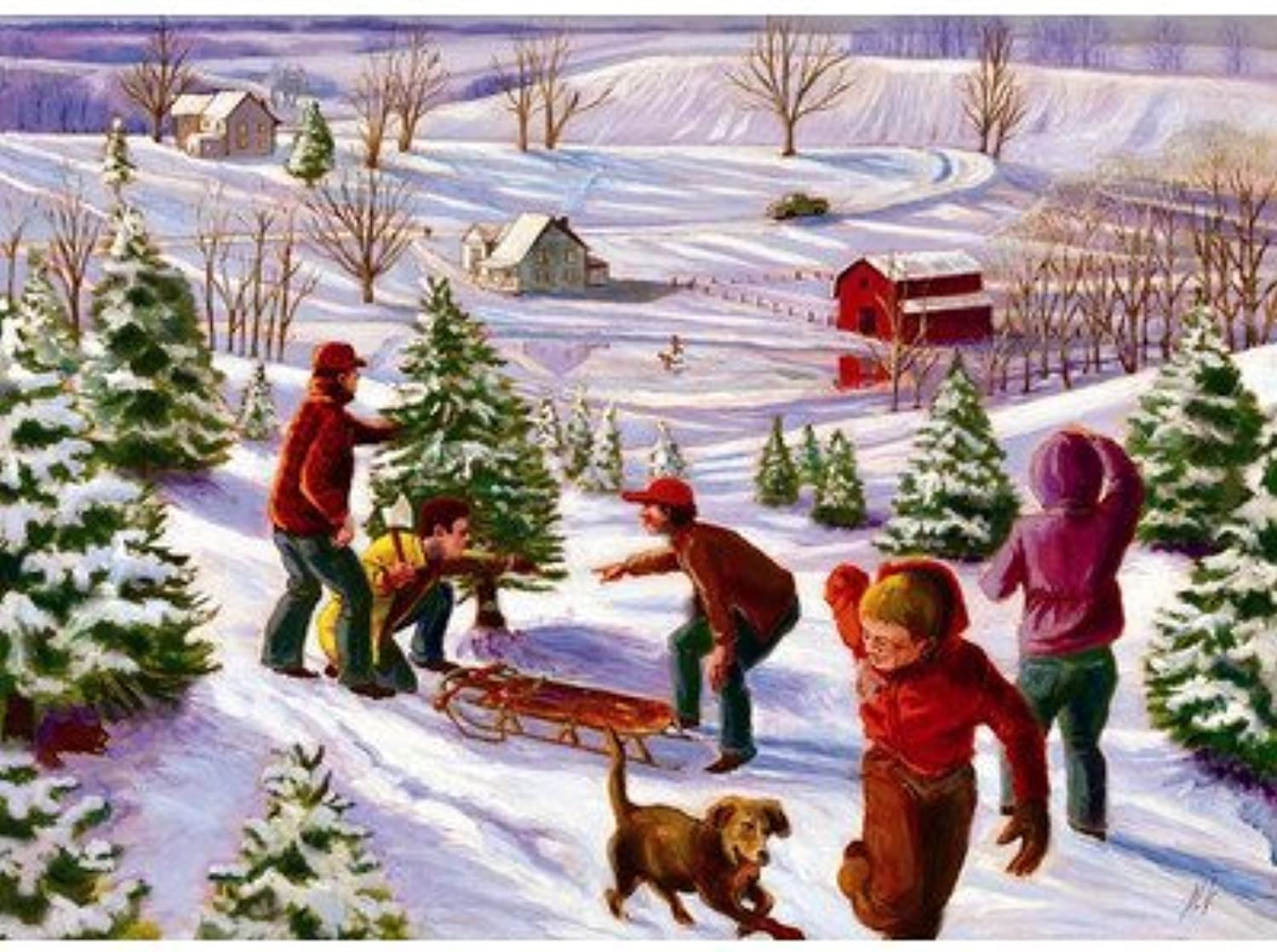 The Perfect Tree 1000 Piece Puzzle by Jack Pine Puzzle Company